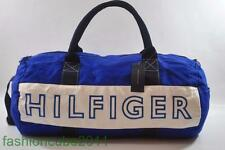 New With Tag Tommy Hilfiger Large Harbour Point Duffle  Gym Bag -Blue