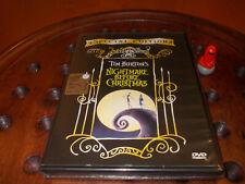 THE NIGHTMARE BEFORE CHRISTMAS ologramma Tondo Dvd  .... Nuovo
