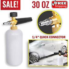 Snow Foam Lance Cannon Soap Bottle Sprayer For Pressure Washer Gun Jet Car Wash