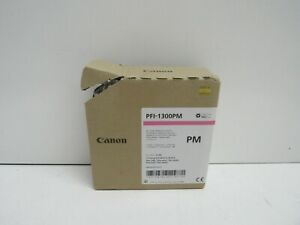 GENUINE CANON PFI-1300PM 0816C001[AA] PHOTO MAGENTA INK TANK