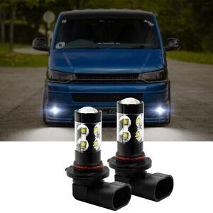 HB4 9006 LED Nebelscheinwerfer Birnen 6000K für VW Multivan Transporter T5 03-18