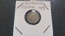 Switzerland 1929 - 5 Centimes coin.