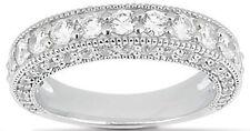 1.45 carat Round Diamond Wedding Anniversary 14k Gold Band G color SI1 clarity