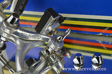 Center bolt tapered nut for vintage Campagnolo Super C Record BRAKES NEW chrome