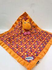 Tomy Sweet Pea Sue Pajanimals Hippo Baby Blanket Blankie Plush Security Lovey