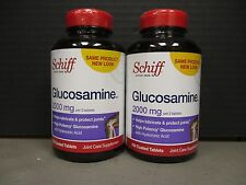 2 SCHIFF GLUCOSAMINE 2000 mg Lubricate/Protect Joints 2x150ct 5/18+ DE 1687