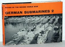 Navies Of The Second World War - GERMAN SUBMARINES 2 - H.T. Lenton