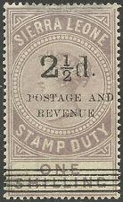 Sierra Leone (1808-1961) Postage Stamps