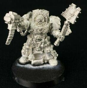 Chaplain in Terminator Armour - Space Marines - Warhammer 40k - Metal OOP