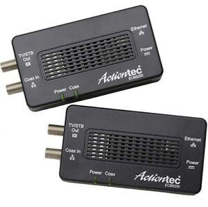 Actiontec ECB6200 Bonded MoCA 2.0 Giga-bit Network Adapters (2-Pack)