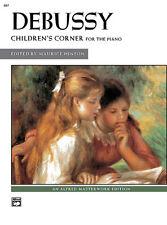 Children's Corner Suite; Debussy, Claude, Piano Solo, ALFRED - 667