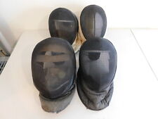 Lot of 4 Vintage Fencing Masks / Helmets - Triplette Competition Arms - Read