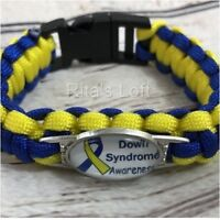 Down Syndrome Awareness Paracord Bracelet - New