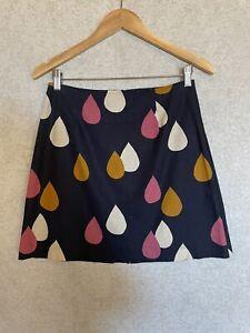 Princess Highway Ladies Linen Cotton Skirt Size 8
