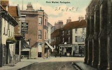 Corn Market - FARINGDON - Oxfordshire - 1909 - Original Postcard (272MX)