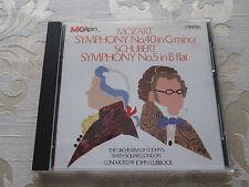 MOZART SYMPHONY NO.4 - SCHUBERT SYMPHONY NO.5 - THE ORCHESTRA OF ST.JOHNS
