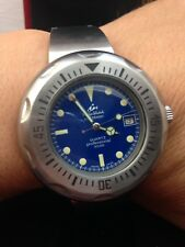 Philip Watch Caribbean 3000 Quartz Nos Diver 1000 mt Uhr Montre Vintage