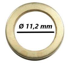 100 Fitschenringe Außen Ø15,8mm Innen Ø11,2 mm Unterlegscheibe Türen Scheibe Tür