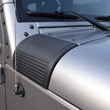 2X Cowl Body Armor Cover Trim Exterior Accessories for 2007-18 Jeep Wrangler JK