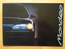 FORD Mondeo range c1993 UK Mkt Fleet Marketing sales brochure