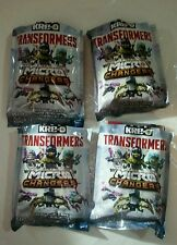 KRE-O Transformers Micro Changers Collection 2 Lot of 4 packs New