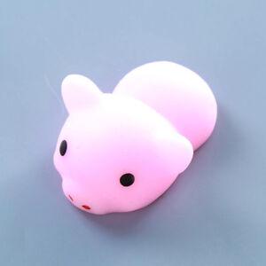 New Cute Mochi Squishy Squeeze Healing Fun Kids Kawaii Toy Stress Reliever Decor