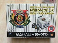 L655 Nintendo GameCube Console Hanshin Tigers Enjoy Plus pack Black Japan GC
