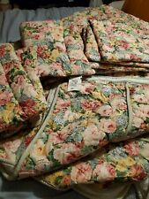 Beautiful Croscill  King Comforter And 3 Pillows Shams Set (Style 7587) Floral