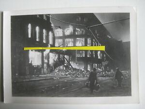 Presse Foto Berlin Mitte Zimmerstraße Endkampf Bombenschäden Luftangriff 1945