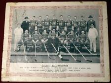 1933 Montreal Canadiens CCM Photo Signed x 17  Howie Morenz Aurel Joliat Mantha!