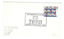 Elizabeth II - Postmark Club - Cover - 30th Anniversary Sinking of TIRPIR