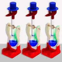 Trinkwasser Vogel Glück Neuheit Glückliche Ente Bobbing Retro Spielzeug Gla H6A1