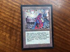 Crimped Beta Time Vault Misprint MTG Magic Card Extremely Nice Condition