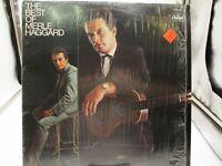 MERLE HAGGARD The Best Of...LP Capitol SN-16054 Reissue Shrink VG+ c VG+