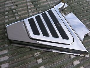 BMW  TOASTER  CHROME LEFT SIDE COVER R50/5 R60/5 R75/5 EXC COND
