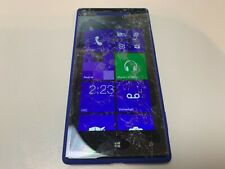 HTC 8X - 16GB - Blue (T-Mobile) Cracked Screen (GSM) - Parts - Grade E