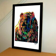 Cowardly Lion The Wizard of Oz Poster Print Wall Art 11x17
