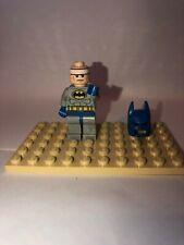 Lego Batman Classic Blue Gray Suit minifigure Super Heroes 10724 10672 minifig
