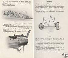 Morane-Saulnier AI Type Archive Manual 1918 WWI WW1 VERY RARE Parasol wing