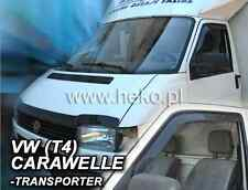 VW TRANSPORTER / CARAVELLE T4 1990-2003 SMOKED WIND DEFLECTORS 2pcs set