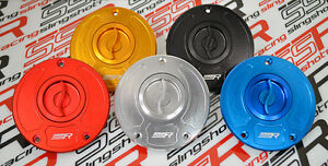Kawasaki Billet Quick Turn Fuel Gas Cap ZZR 1400 (ZX-14) (06-07) ZZR 1200 02-05