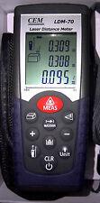 Digital Laser Range Finder Distance Meter Area Volume Tester 005 70meter Ldm 70