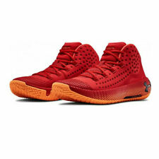 Under Armour Mens HOVR Havoc 2 Basketball Shoes Red Sports Breathable UK 5.5