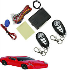 Keyless Entry System Universal Car Remote Central Kits Door Lock Locking Vehicle