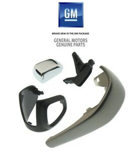 2012-2016 Sonic & Trax Genuine GM Automatic Shift Knob Kit Silver 42423234 NEW