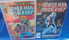 Marvel Comics Power Man And Iron Fist Lot #81 & #103 Doombringer Luke Cage 80'S