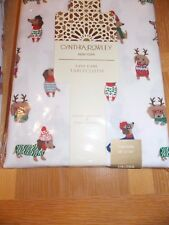 "Dachshund Sweaters Dog Rowley Tablecloth Holiday Christmas - Oblong 60""x104"""