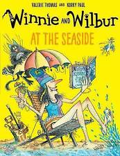 Winnie the Witch Story Book - WINNIE & WILBUR:  AT THE SEASIDE -  NEW