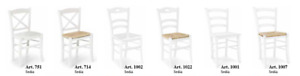 Chairs Wooden White Color, Packaging 2 Pieces