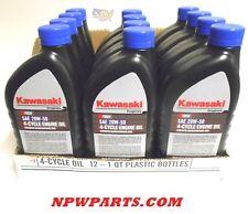 12PK Genuine OEM Kawasaki 20W50 Motor Engine Oil Quart 4-Cycle K-Tech 99969-6298